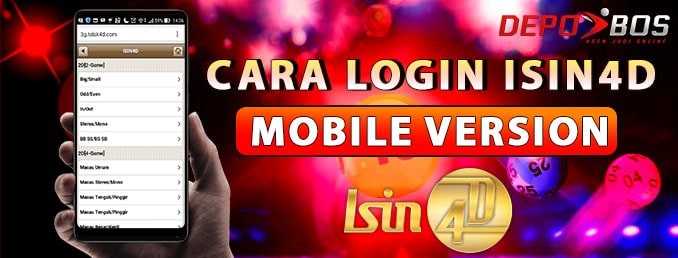 Cara Login ISIN4D via Mobile